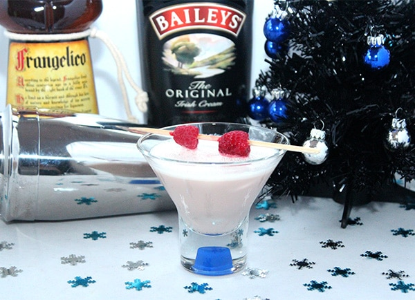 Baileys and Frangelico Eggnog