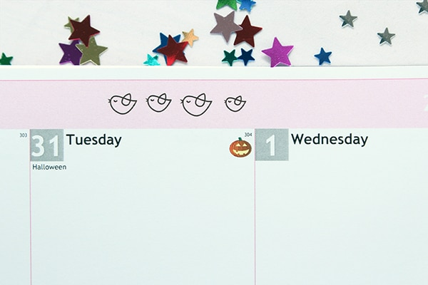 Personal planner Halloween Icon